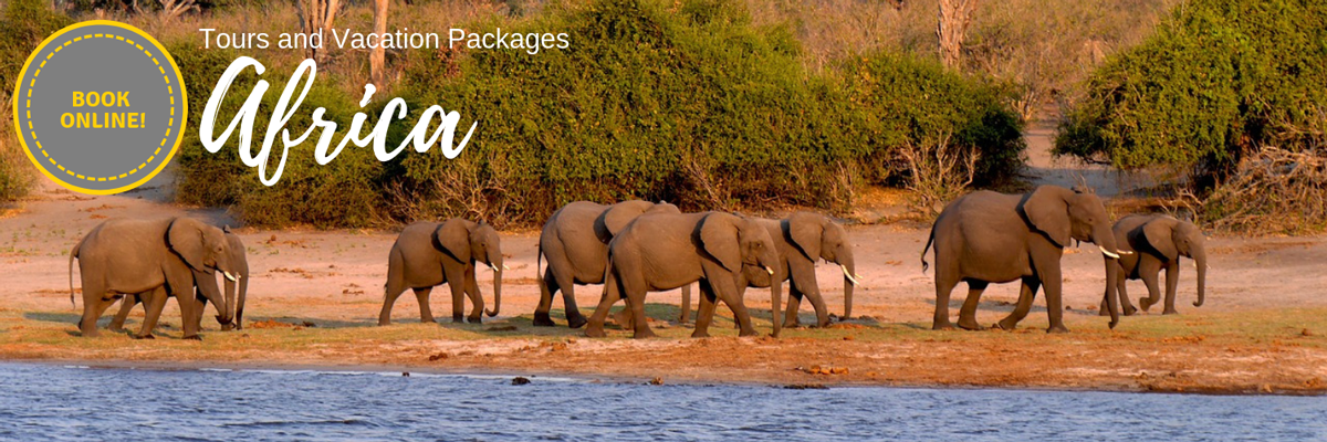 Africa Tours and Vacation Packages - Book Online