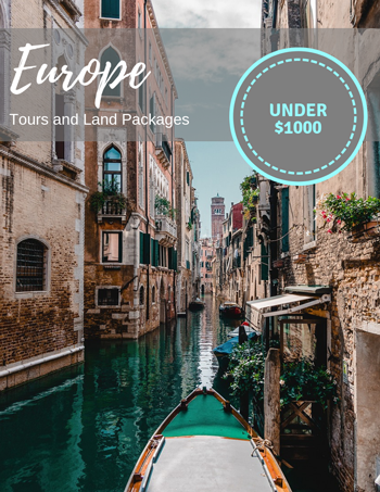 Europe tours and land packages under $1000