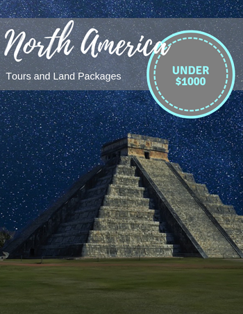 North America tours and land packages under $1000
